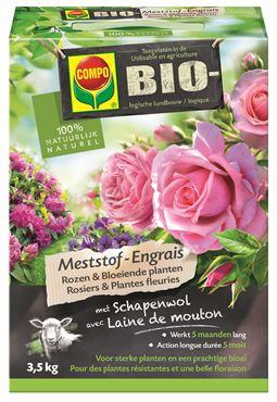 Compo Bio Engrais Rosiers & Plantes Fleuries