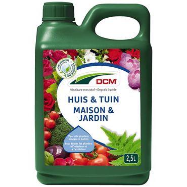 Engrais liquide maison & jardin DCM 2,5 L