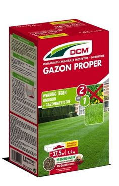 Engrais DCM Gazon Propre 1,5 kg