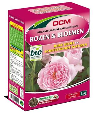 Engrais Rosiers & Fleurs DCM 3,5 kg - BIO