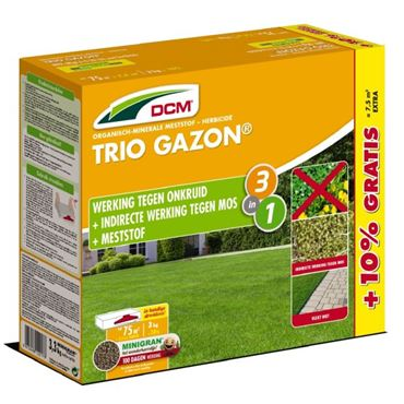 Engrais DCM Trio Gazon® 3 + 0,3 kg