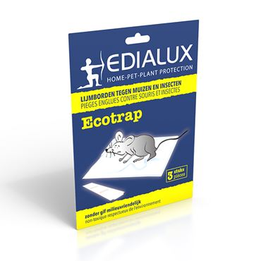 Ecotrap  - 3 Pces - Pieges Englues