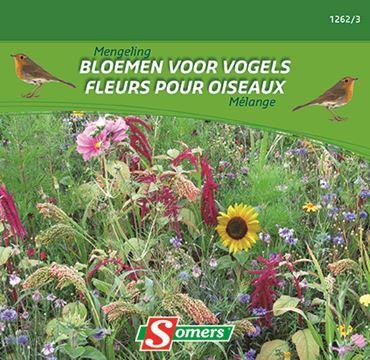 Melange Fleurs Ann Oiseaux