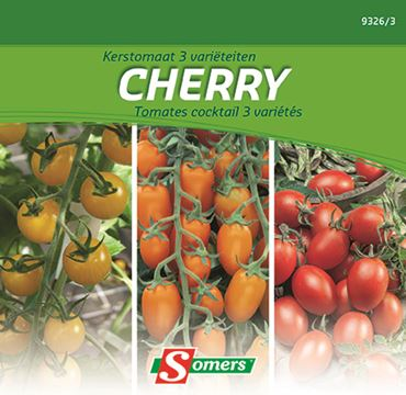 Tomates Cherry 3 Varietes